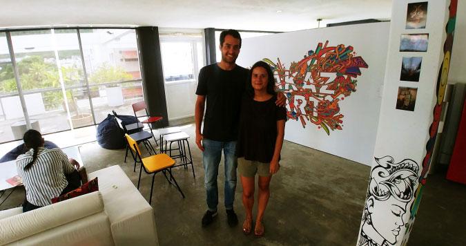 La Isla Social Club - LAKAZ D'ART: 'NOUS CROYONS EN PORT-LOUIS!'